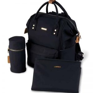 MANI BACKPACK CHANGING BAG – BLACK