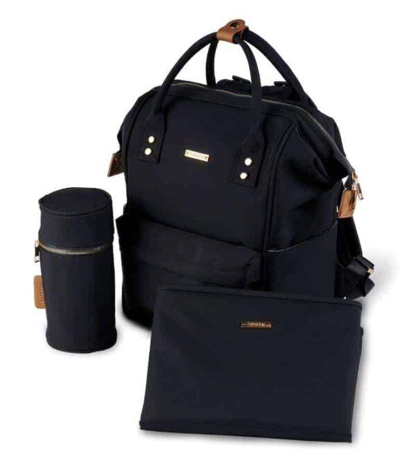 Changing Bags MANI BACKPACK CHANGING BAG – BLACK Pitter Patter Baby NI 4