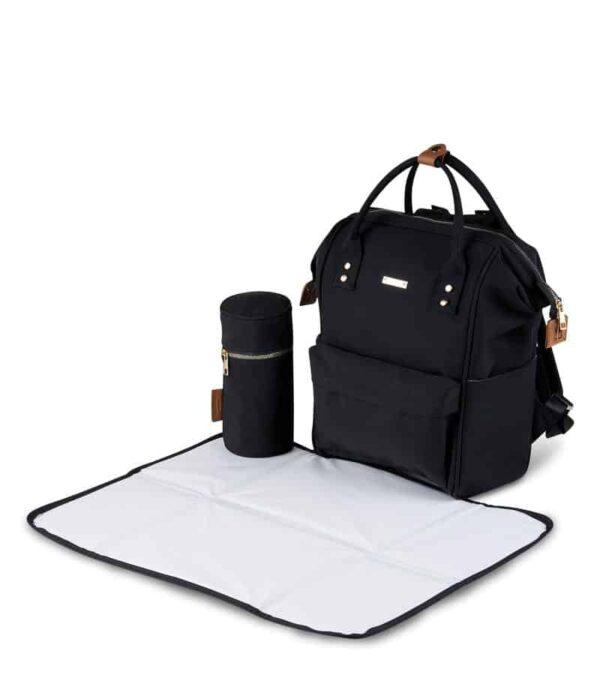 Changing Bags MANI BACKPACK CHANGING BAG – BLACK Pitter Patter Baby NI 8