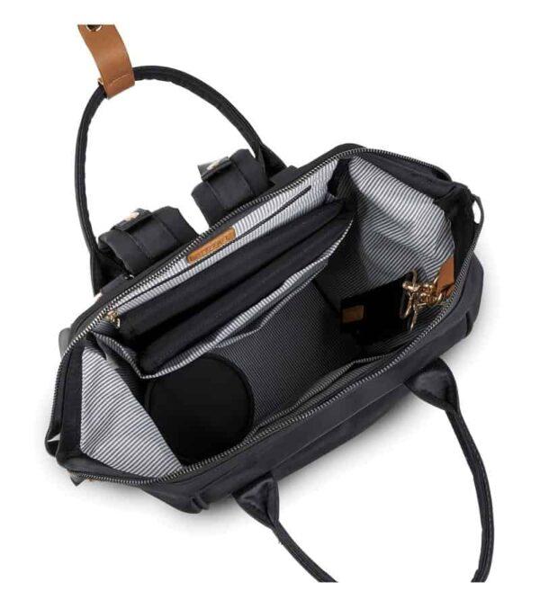 Changing Bags MANI BACKPACK CHANGING BAG – BLACK Pitter Patter Baby NI 9