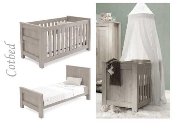 Nursery Furniture & Safety Bordeaux ash 3pc furniture set Pitter Patter Baby NI 4