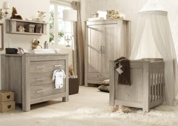 Nursery Furniture & Safety Bordeaux ash 3pc furniture set Pitter Patter Baby NI 3