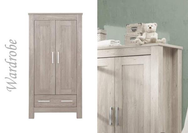 Nursery Furniture & Safety Bordeaux ash 3pc furniture set Pitter Patter Baby NI 6