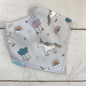 Dribble Bib – unicorn