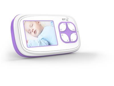 Baby Monitors BT Video Baby Monitor 3000 Pitter Patter Baby NI 7