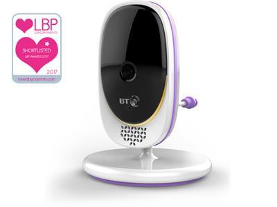 Baby Monitors BT Video Baby Monitor 3000 Pitter Patter Baby NI 9