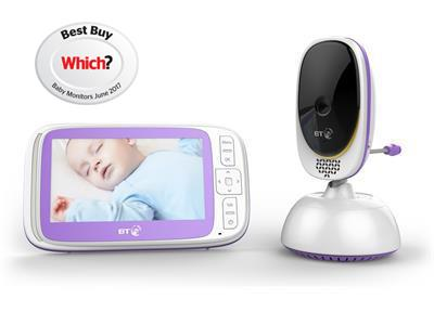 Baby Monitors BT Video Baby Monitor 6000 Pitter Patter Baby NI 3