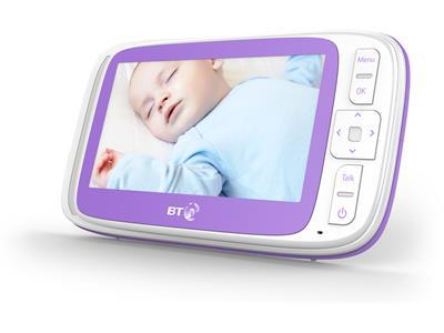 Baby Monitors BT Video Baby Monitor 6000 Pitter Patter Baby NI 7