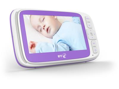 Baby Monitors BT Video Baby Monitor 6000 Pitter Patter Baby NI 8