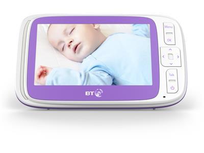 Baby Monitors BT Video Baby Monitor 6000 Pitter Patter Baby NI 9