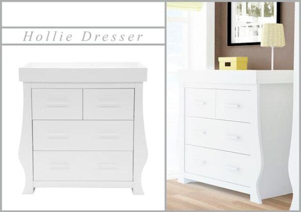 Nursery Furniture & Safety Hollie Furniture set – fresh white Pitter Patter Baby NI 5