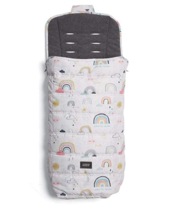 Accessories & Footmuffs All Seasons Footmuff – Rainbow Pitter Patter Baby NI 4