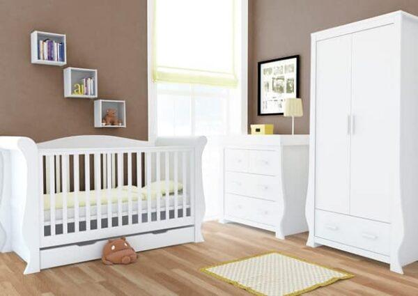 Nursery Furniture & Safety Hollie Furniture set – fresh white Pitter Patter Baby NI 4