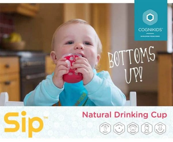 Feeding Cognikids Sip® – Natural Drinking Cup Pitter Patter Baby NI 4