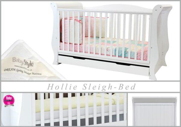 Nursery Furniture & Safety Hollie Furniture set – fresh white Pitter Patter Baby NI 7