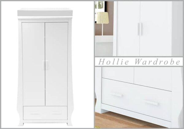 Nursery Furniture & Safety Hollie Furniture set – fresh white Pitter Patter Baby NI 8