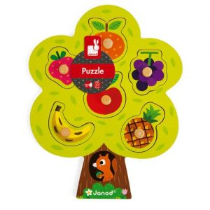 FRUIT TREE PUZZLE 6 PIECES (WOOD)