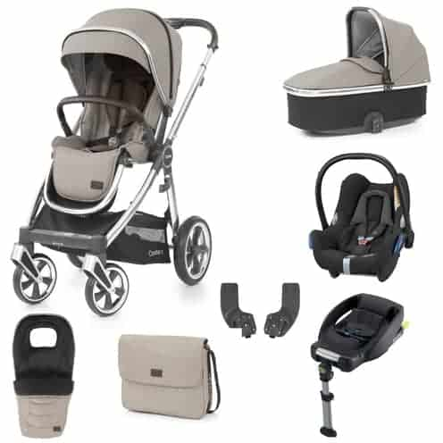 Travel Systems Oyster 3 Luxury Bundle Pebble Pitter Patter Baby NI 4