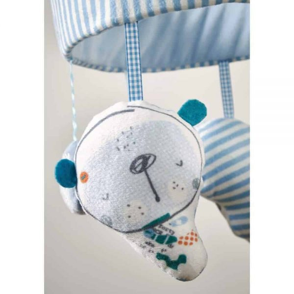 Bedding Forty Winks Musical Mobile Pitter Patter Baby NI 5
