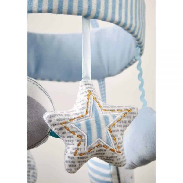 Bedding Forty Winks Musical Mobile Pitter Patter Baby NI 6
