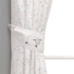 Bedding Counting Sheep Lined Curtains Pitter Patter Baby NI 4