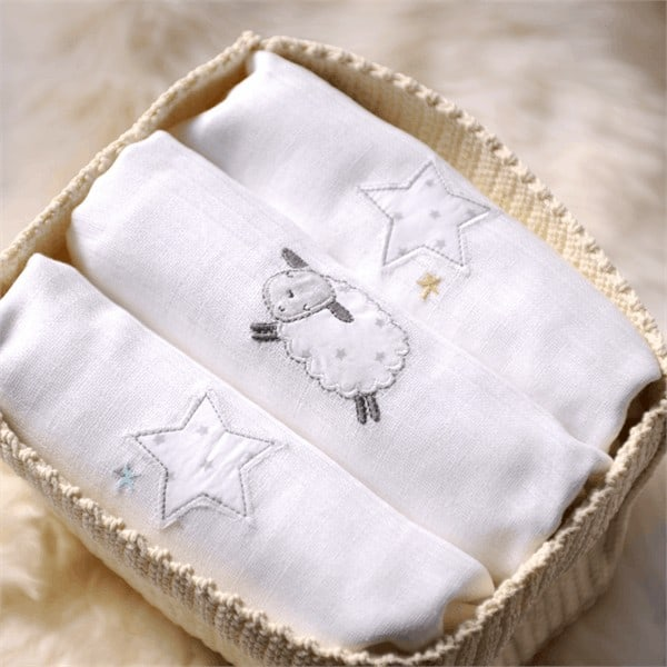 Blankets & Sleeping Bags Counting Sheep Muslins Pitter Patter Baby NI 4