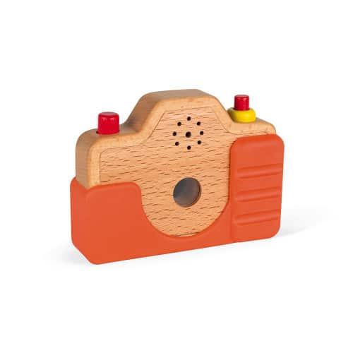 Wooden Toys SOUND CAMERA Pitter Patter Baby NI 6