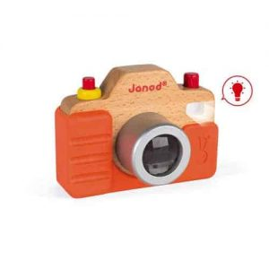 Wooden Toys SOUND CAMERA Pitter Patter Baby NI