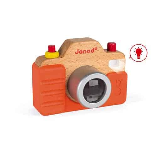 Wooden Toys SOUND CAMERA Pitter Patter Baby NI 4