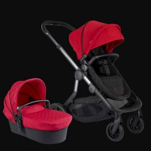 Orange Pushchair and Carrycot – Magma