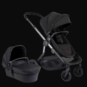 Orange Pushchair and Carrycot – Onyx