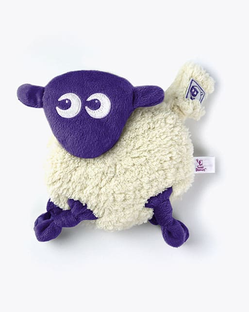 Toys Ewan snuggly Baby Comforter purple Pitter Patter Baby NI 4