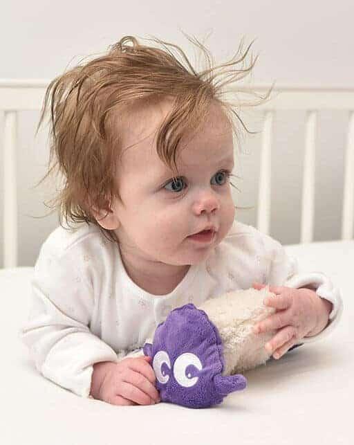 Toys Ewan snuggly Baby Comforter purple Pitter Patter Baby NI 5
