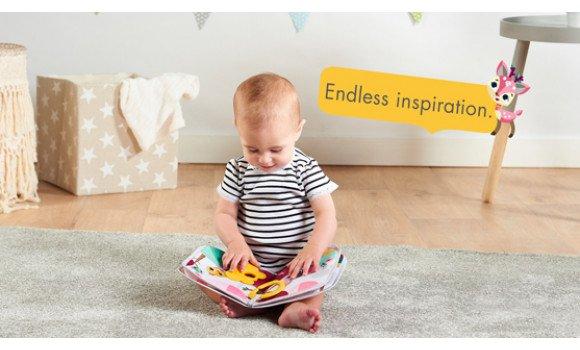 Toys Tiny Princess Tales Soft Book Pitter Patter Baby NI 8