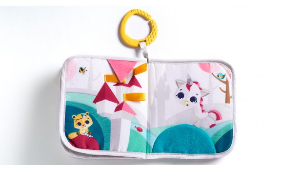 Toys Tiny Princess Tales Soft Book Pitter Patter Baby NI 4