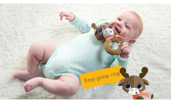 Baby Gifts Polar Wonders™ Alex Rattle Pitter Patter Baby NI 5