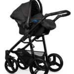 Travel Systems Venicci Soft Denim Black Pitter Patter Baby NI 4