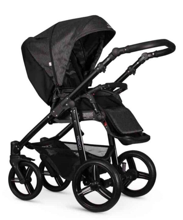 Travel Systems Venicci Soft Denim Black Pitter Patter Baby NI 5