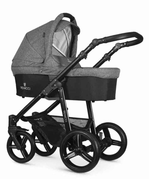 Pushchairs & Prams Venicci Soft Denim Grey Pitter Patter Baby NI 4