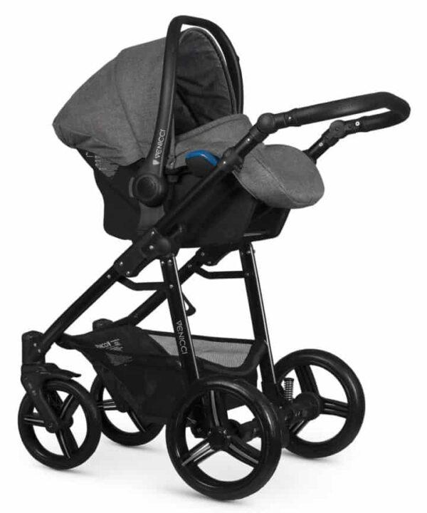 Pushchairs & Prams Venicci Soft Denim Grey Pitter Patter Baby NI 6