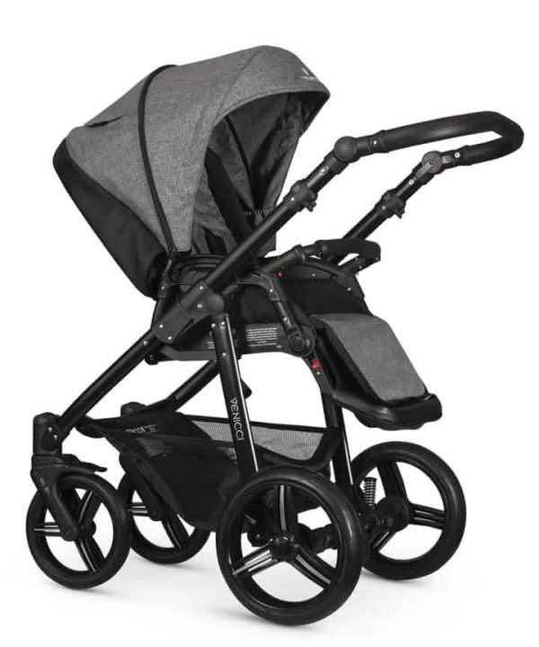 Pushchairs & Prams Venicci Soft Denim Grey Pitter Patter Baby NI 7