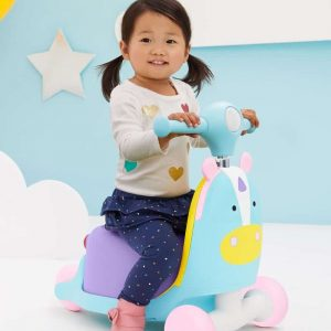 Skip Hop Zoo 3in1 Ride on Toy Unicorn