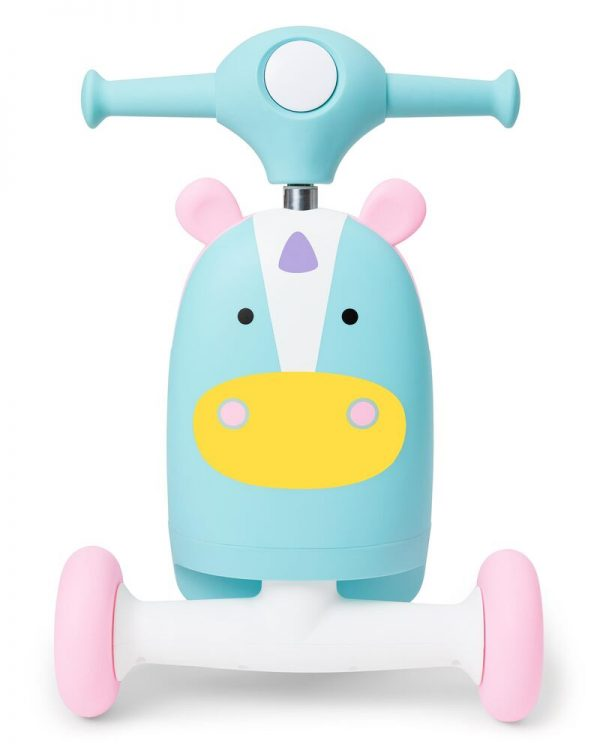Ride On toys Skip Hop Zoo 3in1 Ride on Toy Unicorn Pitter Patter Baby NI 8