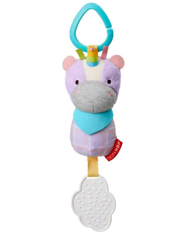 Baby Gifts Bandana Buddies Chime & Teethe Toy Pitter Patter Baby NI 4
