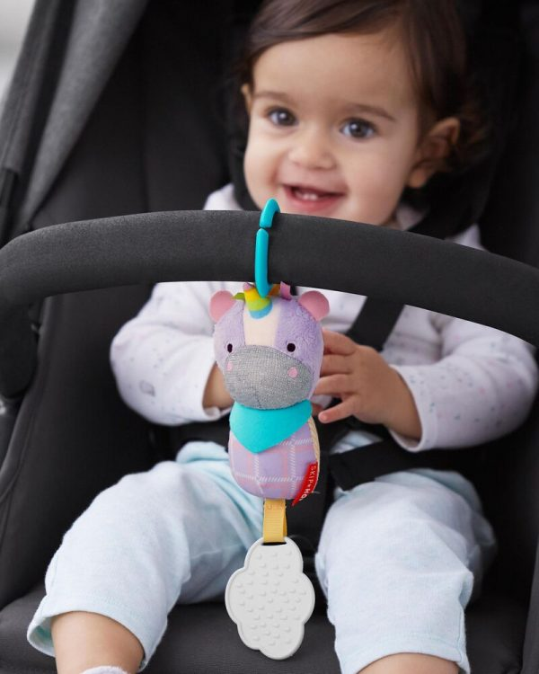 Baby Gifts Bandana Buddies Chime & Teethe Toy Pitter Patter Baby NI 12
