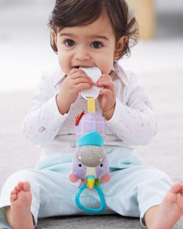 Baby Gifts Bandana Buddies Chime & Teethe Toy Pitter Patter Baby NI 13
