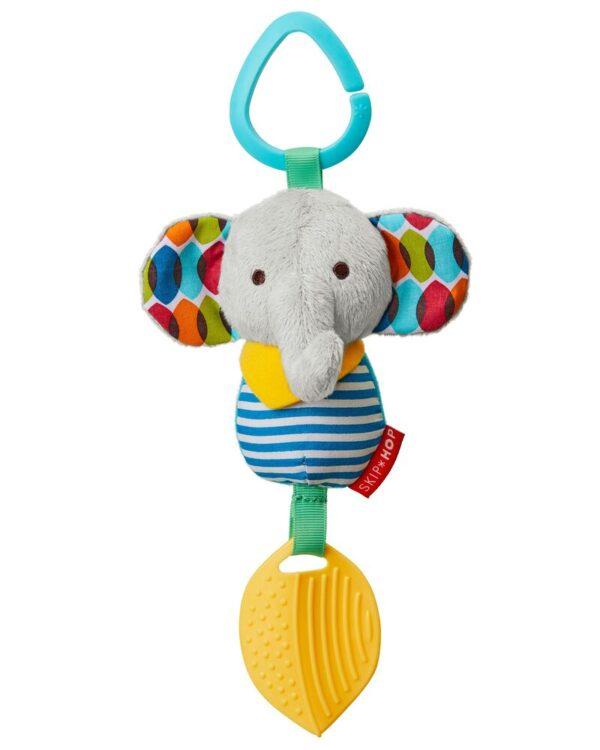 Baby Gifts Bandana Buddies Chime & Teethe Toy Pitter Patter Baby NI 14