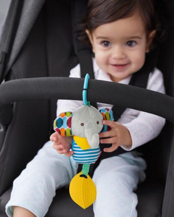 Baby Gifts Bandana Buddies Chime & Teethe Toy Pitter Patter Baby NI 15