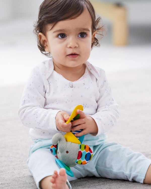 Baby Gifts Bandana Buddies Chime & Teethe Toy Pitter Patter Baby NI 16