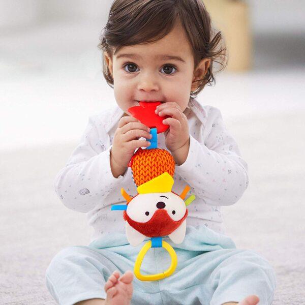 Baby Gifts Bandana Buddies Chime & Teethe Toy Pitter Patter Baby NI 7